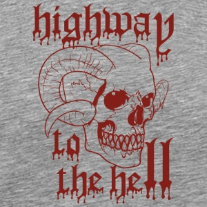 highway to the hell bloody - Men's Premium T-Shirt