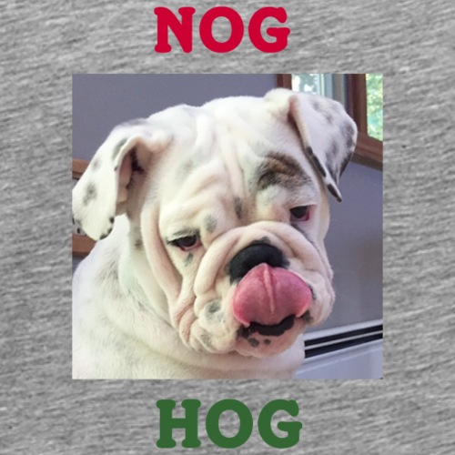 Nog Hog - Men's Premium T-Shirt