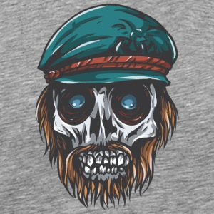 dead_captain_skull - Men's Premium T-Shirt