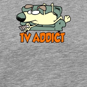 TV ADDICT - Men's Premium T-Shirt