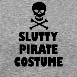 Slutty Pirate Costume - Men's Premium T-Shirt