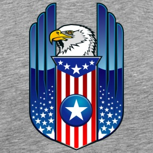 american_eagle_and_flag - Men's Premium T-Shirt