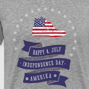 4.juli chucks indepandance usa flag Star LOL pride - Men's Premium T-Shirt
