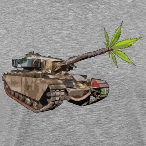Cannabis Tank - Men's Premium T-Shirt