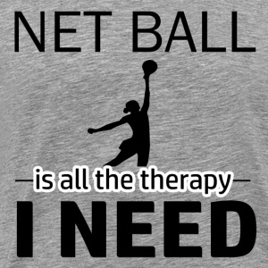 Net Ball is my therapy - Men's Premium T-Shirt