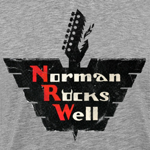 Norman Rocks Well (RGB) - Men's Premium T-Shirt