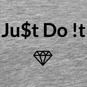 Ju$t Do !t logo - Men's Premium T-Shirt