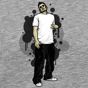 street_break_dancer - Men's Premium T-Shirt