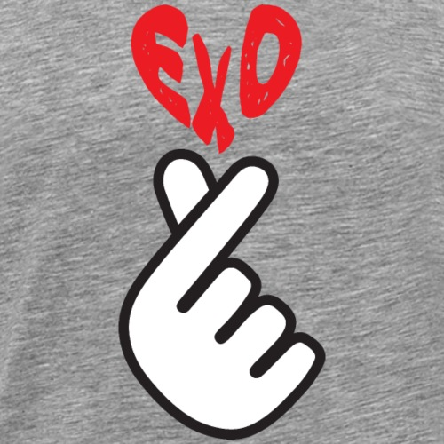 EXO_Finger Heart_Graphic - Men's Premium T-Shirt