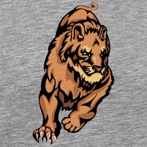 running_muscular_lion - Men's Premium T-Shirt