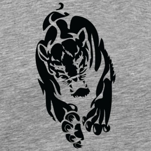 wild_panther_black - Men's Premium T-Shirt