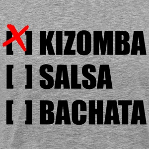 kizomba choice - Men's Premium T-Shirt