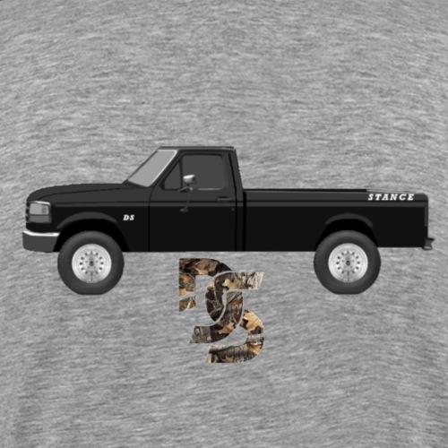 DS XLT work trok Stance Fleetside - Men's Premium T-Shirt