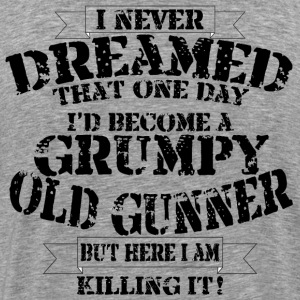 Grumpy Old Gunner - Men's Premium T-Shirt