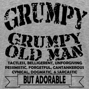 Grumpy Old Man - Men's Premium T-Shirt