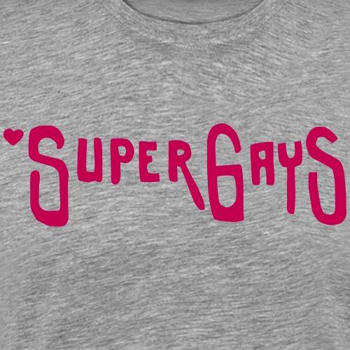 Super Gays - Men's Premium T-Shirt