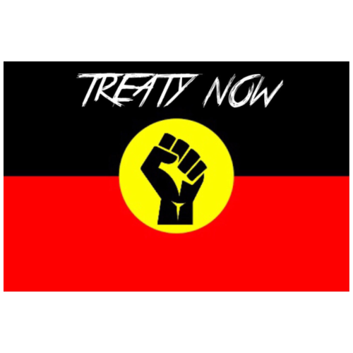 treaty aboriginal flag - Men's Premium T-Shirt
