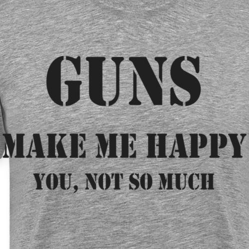 Gunsblack - Men's Premium T-Shirt