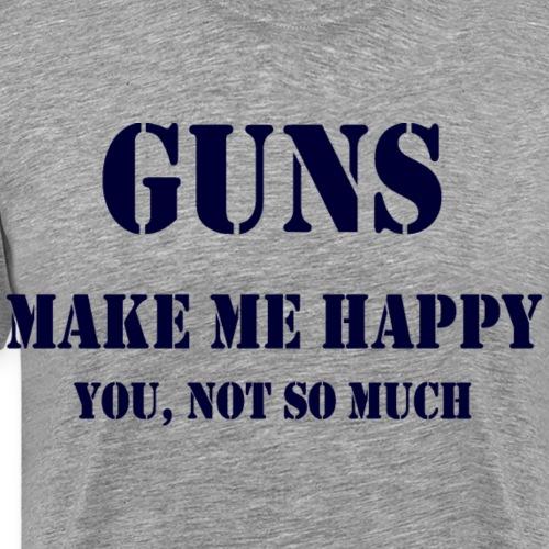 Gunsblue - Men's Premium T-Shirt