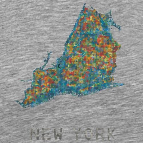 new york water - Men's Premium T-Shirt