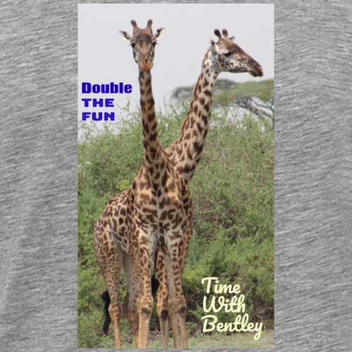 Two Headed Giraffe - Men's Premium T-Shirt