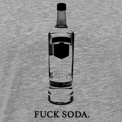 FUCK SODA - Men's Premium T-Shirt