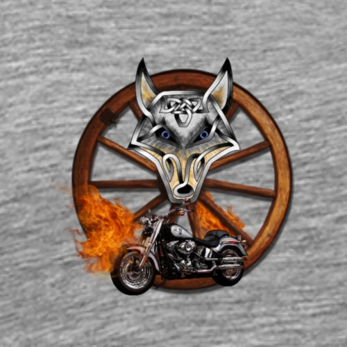LoneWolfe Rider - Men's Premium T-Shirt