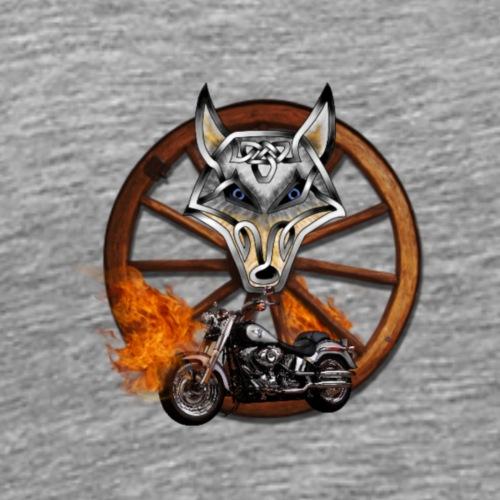 LoneWolfe Rider - Men's Premium T-Shirt