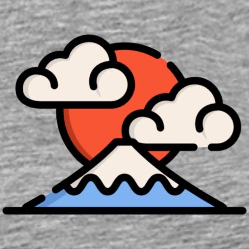 mount fuji - Men's Premium T-Shirt