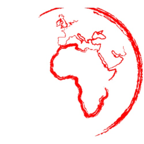 Africa Sketch Logo - Men's Premium T-Shirt