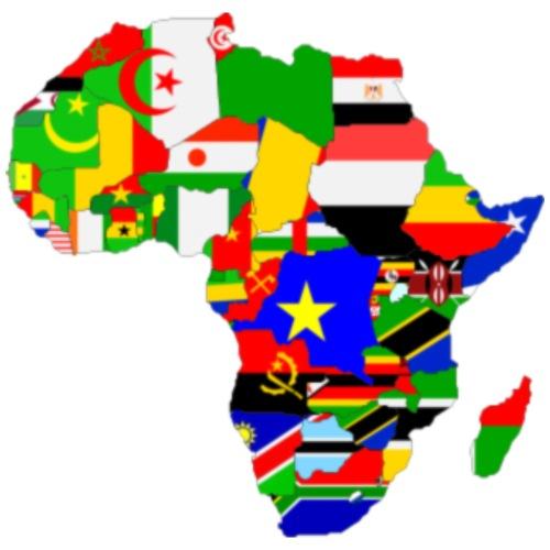 Flags Of Africa - Men's Premium T-Shirt