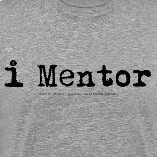 i Mentor (black) - Men's Premium T-Shirt