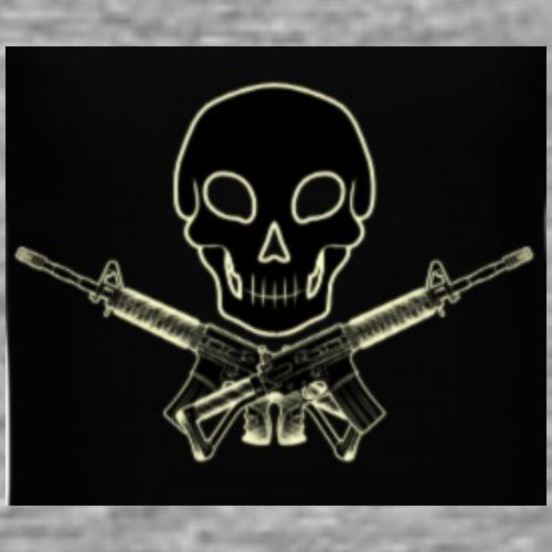 b w gangstas - Men's Premium T-Shirt