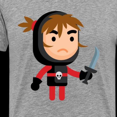 Dark Warrior Lvl 1 - Men's Premium T-Shirt