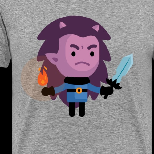 Demon Lvl 2 - Men's Premium T-Shirt