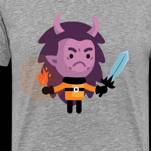 Demon Lvl 3 - Men's Premium T-Shirt