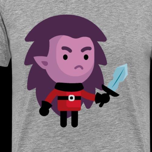 Demon Lvl 1 - Men's Premium T-Shirt