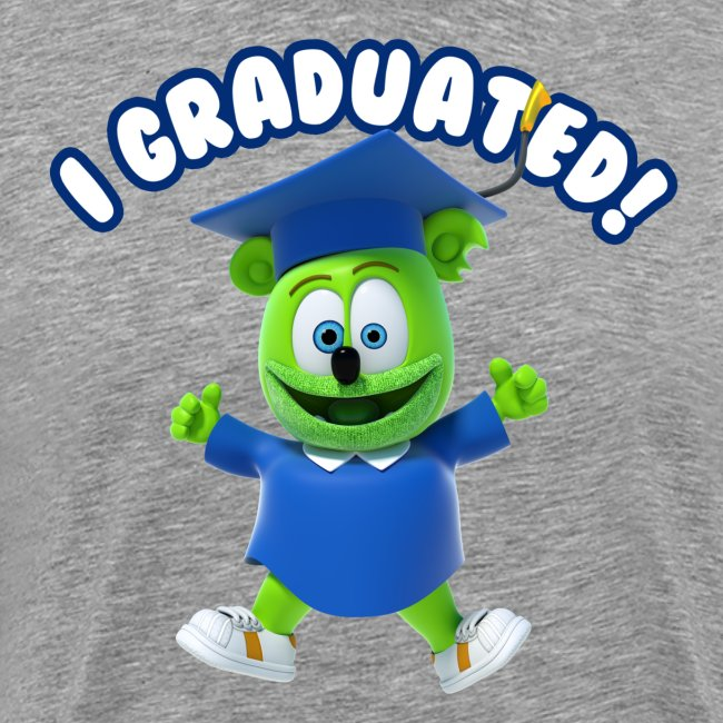 I Graduated! Gummibar (The Gummy Bear)