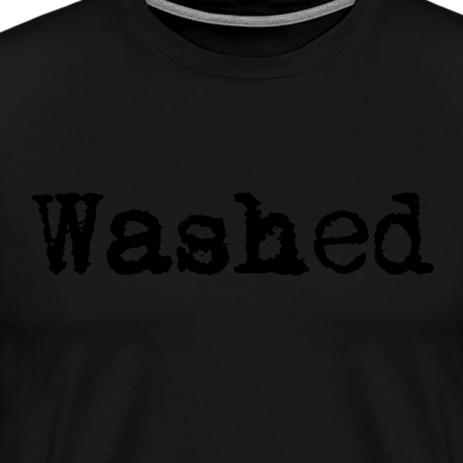 WASHED (TYPED)