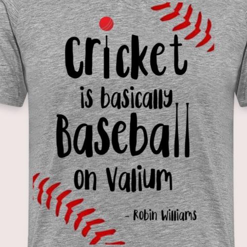 Cricket is... - Men's Premium T-Shirt