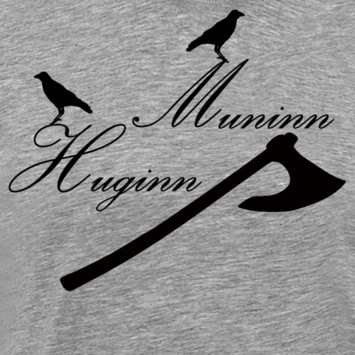 Huginn & Muninn - Men's Premium T-Shirt