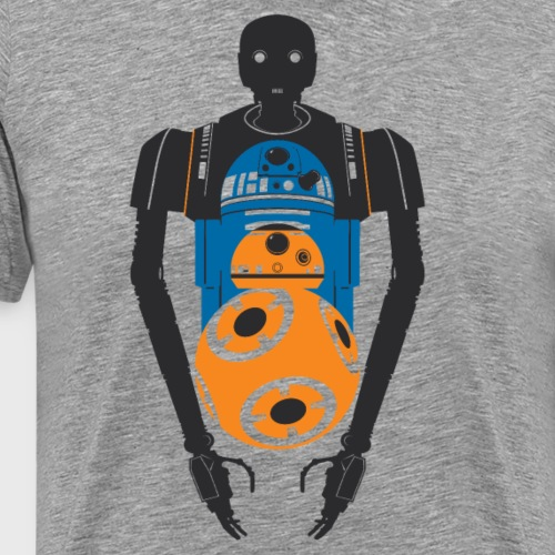 Star Wars Rogue One The Droids You're Looking For - Men's Premium T-Shirt