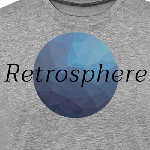Retrosphere Old Logo Blue - Men's Premium T-Shirt