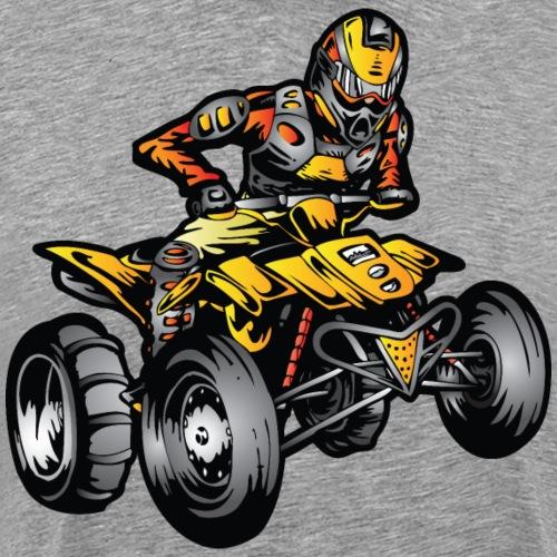 Suzuki ATV Quad Sand Rider - Men's Premium T-Shirt
