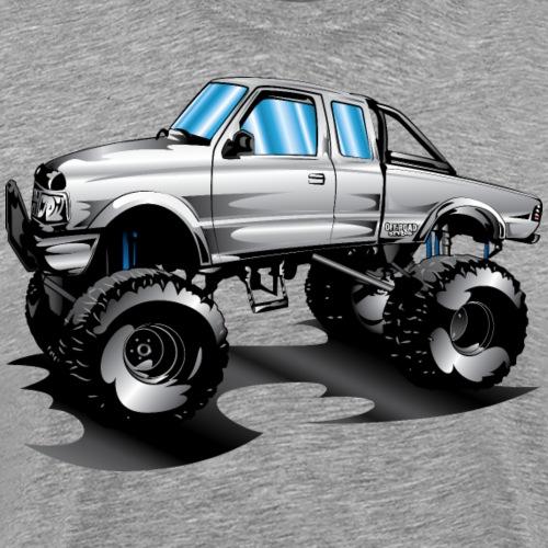 Lifted 4x4 Ford Truck - Men's Premium T-Shirt