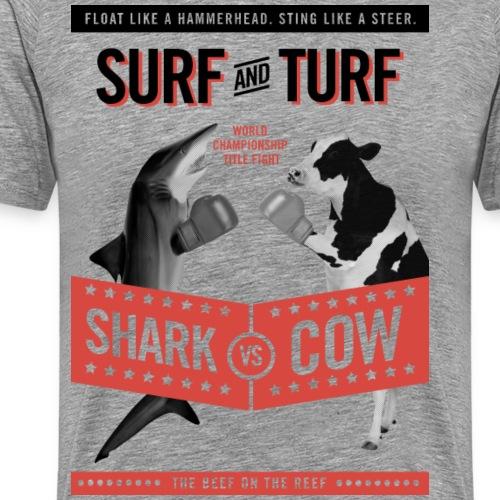 cow shark png - Men's Premium T-Shirt