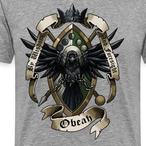 Dan Obeah House Crest - Men's Premium T-Shirt