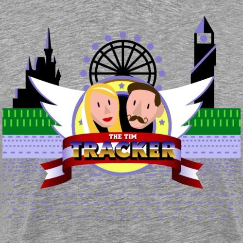 No Ears Hedgehog png - Men's Premium T-Shirt