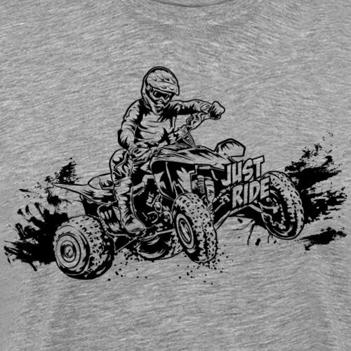 Just Ride Off-Road ATV - Men's Premium T-Shirt