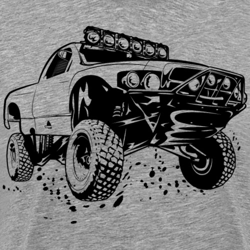 Off-Road Race Truck - Men's Premium T-Shirt